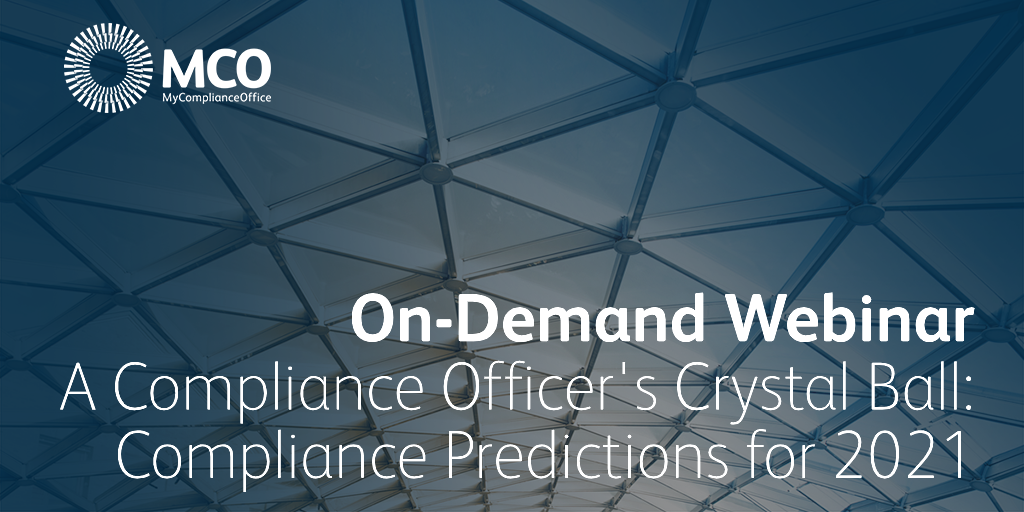 Compliance Predictions 2021 OnDemand