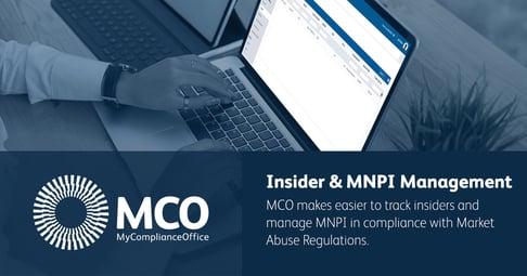 Insider and MNPI