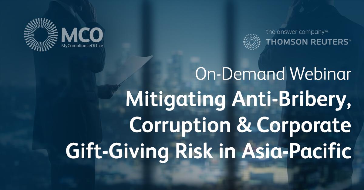 Anti-Bribery and Corruption in Asia