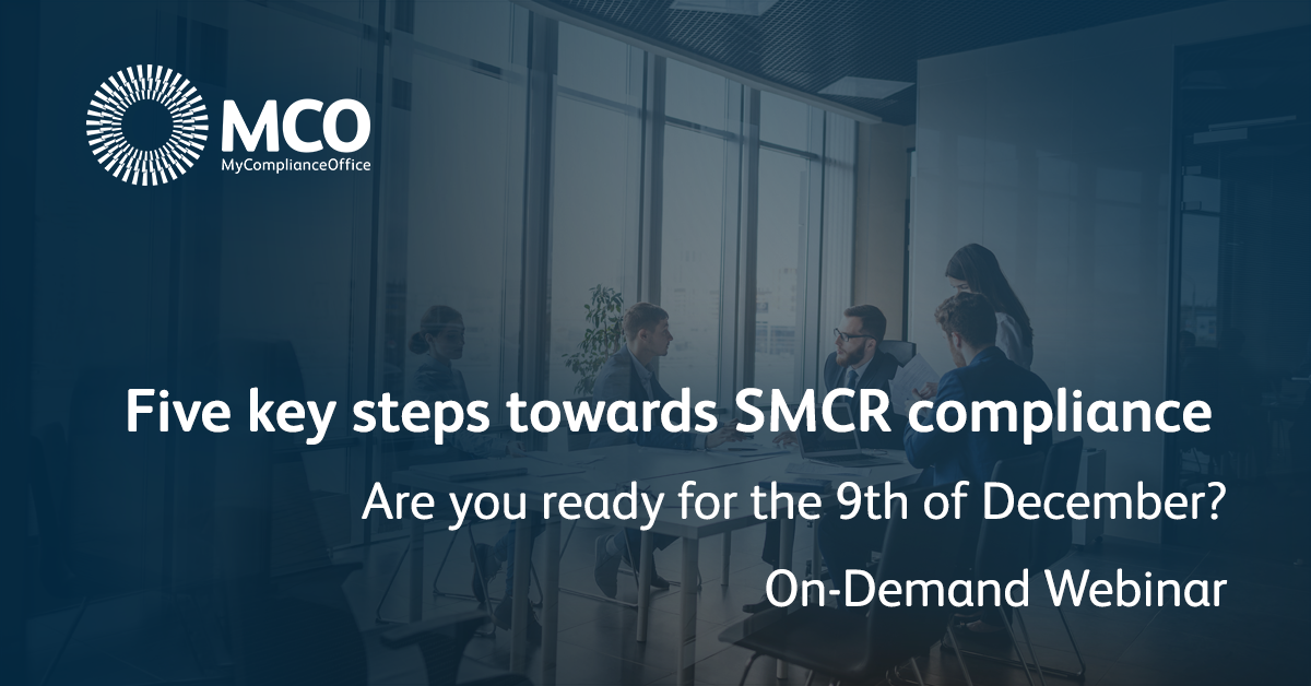 MCO Social Media SMCR webinar - On-demand webinar